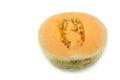 Sun lady cantaloupe melon Royalty Free Stock Photo