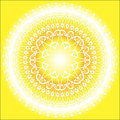 Sun Mandala Royalty Free Stock Photography