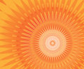 Sun mandala Royalty Free Stock Images