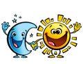 Sole e luna amici