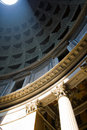 Sun in Pantheon Royalty Free Stock Photo