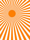 Sun ray background (vector) Royalty Free Stock Photo