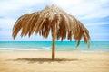 Sun Roof Beach Umbrella Royalty Free Stock Photo