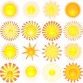 Slunce tvary