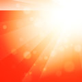 Sun shine abstract bright orange background Royalty Free Stock Photo