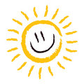 Sun Smile Royalty Free Stock Photo