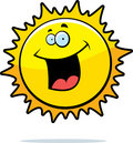Sun Smiling Royalty Free Stock Photography