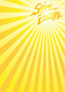 Sun solar energy a4 Royalty Free Stock Photos