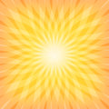 Sun sunburst pattern vector illustration Stock Photography