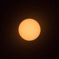 Sun sunspot-6 Royalty Free Stock Photo