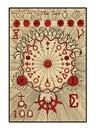 The Sun. The tarot card