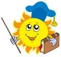 Sun teacher Royalty Free Stock Photo