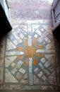 Sun Tile Entry Royalty Free Stock Photo