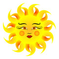 Sun vector illustration.