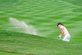 Sun Young Yoo of South Korea in Honda LPGA Thailand 2016 Royalty Free Stock Photo