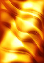 Sunbeam background orange wavy with effect Royalty Free Stock Photography