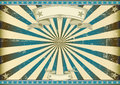 Sunbeam blue retro background Royalty Free Stock Images