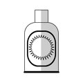 Sunblock bottle icon