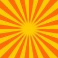 Sunburst Arkivfoton