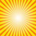 Sunburst background Stock Images