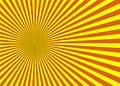 Sunburst background in orange and yellow color .