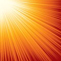 Sunburst. Eps8. Stock Photography