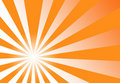 Sunburst Orange Yellow Abstract Background Royalty Free Stock Photo