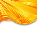Sunburst ray abstract banner Royalty Free Stock Photo