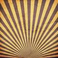 Sunburst Retro Background