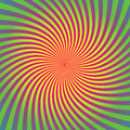 Sunburst, starburst background set, colorful rays, beams, colored warp, twist, whirl