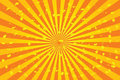Sunburst vector Royalty Free Stock Images
