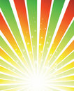 Sunburst vector background Royalty Free Stock Images