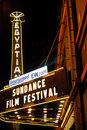 Sundance Film Festival Royalty Free Stock Photo
