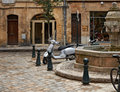 Sunday calmness in Aix en Provence Stock Images