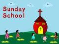 Sunday School Stock Photo