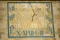 The Sundial Stock Image