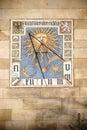Sundial at the Liebieg House Frankfurt
