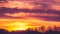 Sundown sky Royalty Free Stock Photo