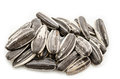 Sunflower seeds pile. Royalty Free Stock Photo