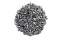 Sunflower seeds pile Royalty Free Stock Photo