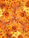Sunflower Swirls Background