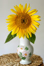 Sunflower In A Vase