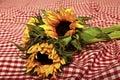 Sunflowers. Royalty Free Stock Photo