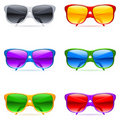 Sunglasses set. Royalty Free Stock Photo