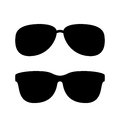 Sunglasses vector icon