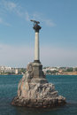 The sunken ships monument sevastopol crimea Stock Images