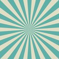 Sunlight retro faded background. Aquamarine blue and beige color burst background. Fantasy Vector