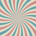 Sunlight retro faded grunge background. blue and red color burst background. Royalty Free Stock Photo
