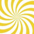 Sunlight whirl background. yellow and white color burst background. Vector illustration