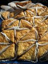 Sunlit Baklava Royalty Free Stock Photography